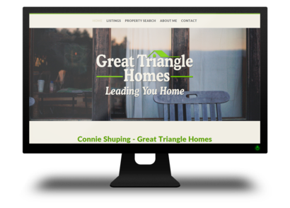 Great Triangle Homes Website